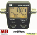 MFJ-847 - Digital SWR/Wattmeter - VHF/UHF 125-525 MHz, 120 Watts