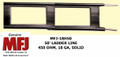 MFJ-18H050, Twin Lead Ladder Line, 450 OHM, 18 GA, Solid Copper/Steel Conductor