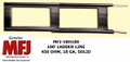 MFJ-18H100, Twin Lead Ladder Line, 450 OHM, 18 GA, Solid Copper/Steel Conductor