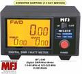 MFJ-849, Digital SWR/Wattmeter, 1.6-60 MHZ,  0-200 WATTS