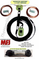 MFJ-1778, G5RV Wire Antenna - Multi-band, center-fed dipole antenna capable of 1500 Watts. WITH 75' OF 100% DACRON POLYESTER ROPE