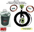 MFJ-1778, G5RV Wire Antenna - Multi-band, center-fed dipole antenna capable of 1500 Watts. WITH 250' OF 100% DACRON POLYESTER ROPE