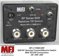 MFJ-1708B-SDR, RF SENSING TRANSMIT/RECEIVE SWITCH FOR SDR 200 Watts, HF, VHF, UHF