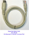 Tigertronics SLCAB13K Extra Cable compatible with virtually all Kenwood radios that have a 13-pin DIN Accessory Port.