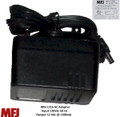 MFJ-1316, Power Supply, AC Adaptor, 12 VDC, 1500 MA