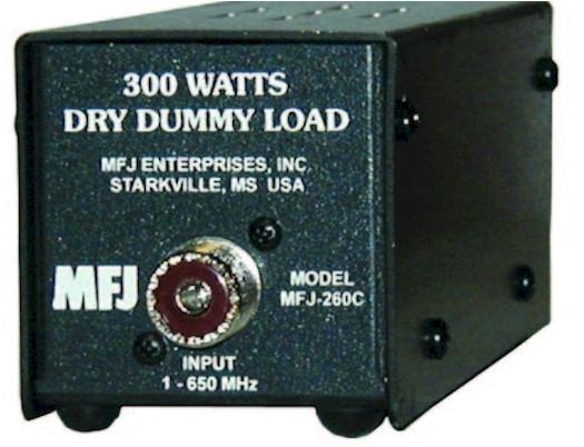 MFJ-261 Dummy Load PL-259 100W Peak 0-500MHz