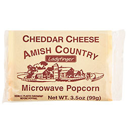 Microwave Cheddar Cheese Popcorn   Amish Country Bulk Food in Missouri