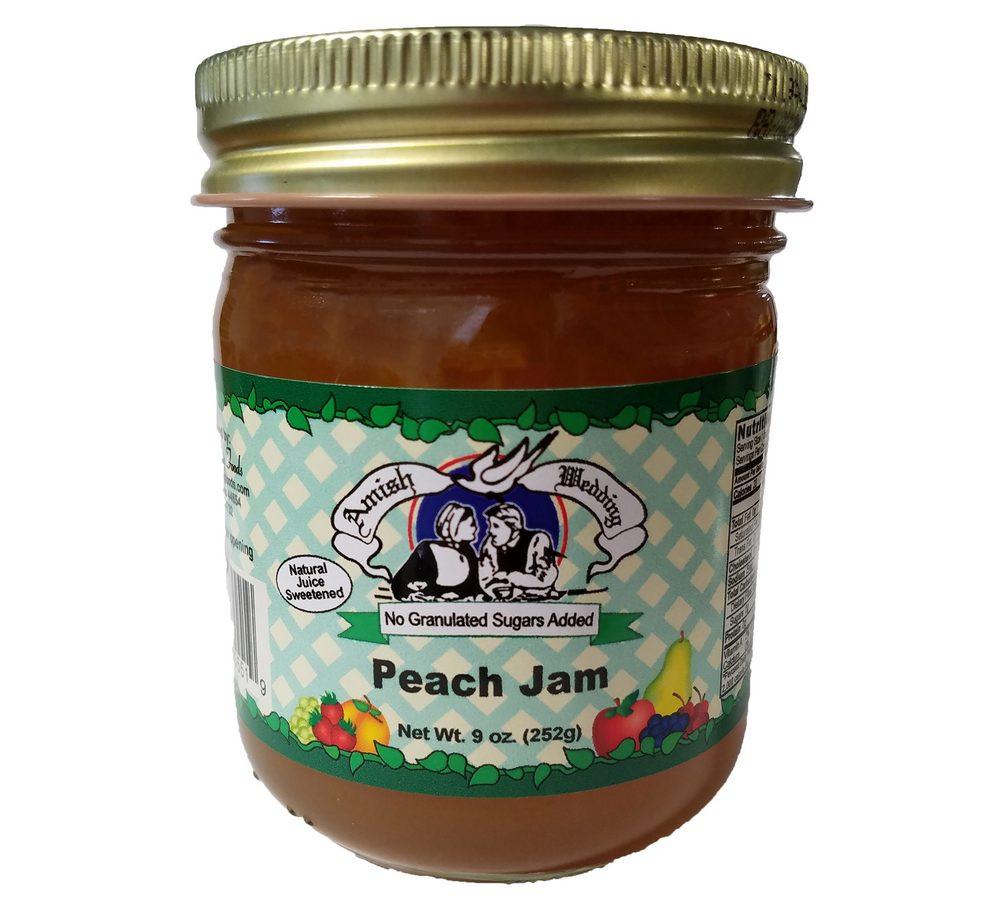 Old Fashioned Peach Jam
