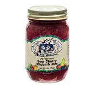Sour Cherry Rhubarb Jam