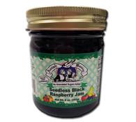Seedless Black Raspberry Jam NJS 1/2 Pts