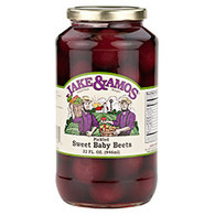 J&A Pickled Sweet Baby Beets - Quart