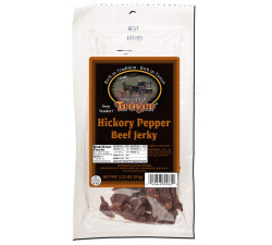 Troyer's Hickory Peppered Beef Homestyle Jerky   Amish Country Store - Branson, Missouri
