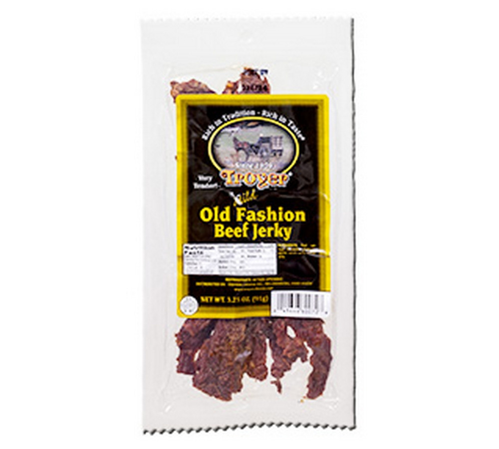 ... Troyer Furniture By Troyer S Mild Old Fashion Beef Homestyle Jerky  Amish ...