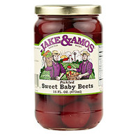 J&A Pickled Sweet Baby Beets - Pint