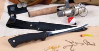 Filet Knife w/ Leather Scabbard