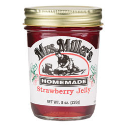 Mrs Miller's Homemade Strawberry Jelly | Amish Country Bulk Food - Branson, Missouri