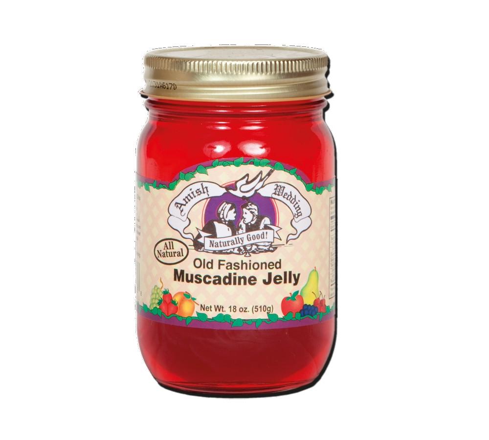 Old Fashioned Muscadine Jam