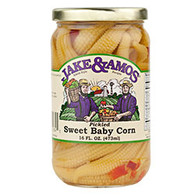 Jake and Amos Pickled Sweet Baby Corn - Pint | Branson Missouri Food Store