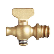 Brass Air Cock - Tee Handle Plain