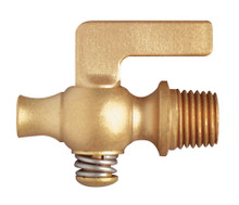 Brass Air Cock - Lever Handle Plain