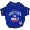 N.Y. Giants NFL Football Pet T-Shirt
