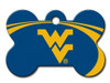 West Virginia WVU Mountaineers Engraved Pet ID Tag