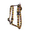 "Jack O'Lantern Roman Style ""H"" Dog Harness"