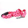 Valentine Polka Dot EZ-Grip Dog Leash