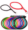 Rolled Round Braided Rope Training Dog Collar