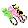 Rope Ring  Elastic Dog Toy 3 Pack
