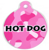 Pink Camo HD Pet ID Tag