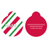 Peppermint Stick HD Pet ID Tag