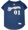 Milwaukee Brewers MLB Pet JERSEY
