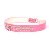Luxury 3-Row Crystal Dog Collar