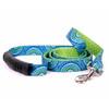 Radiance Blue Uptown Dog Leash