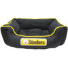 Pittsburgh Steelers NFL Football Dog Bed