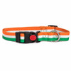 Irish Stripe Natural Bamboo Dog Collar