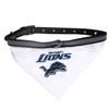 Detroit Lions Bandana Dog Collar