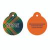 Green Kilt Plaid HD Pet ID Tag