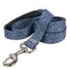 Blue Tweed EZ-Grip Dog Leash