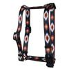 Indian Spirit Black Roman Style H Dog Harness