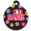 Bright Owls HD Pet ID Tag