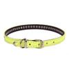 Neon 1-Row Crystal Dog Collar