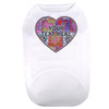 Personalized Crazy Hearts Pet T-Shirt