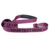 Personalized Dog Leash with Custom ID