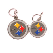 Pittsburgh Steelers NFL Dog Tags With Custom Engraving
