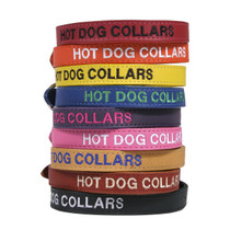 Personalized Embroidered Leather Dog Collar