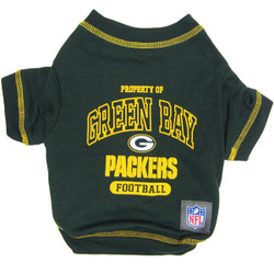 Green Bay Packers NFL Football Pet T-Shirt