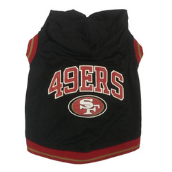 San Francisco 49ers NFL Football Dog HOODIE