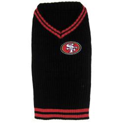 San Francisco 49ers NFL Football Pet SWEATER